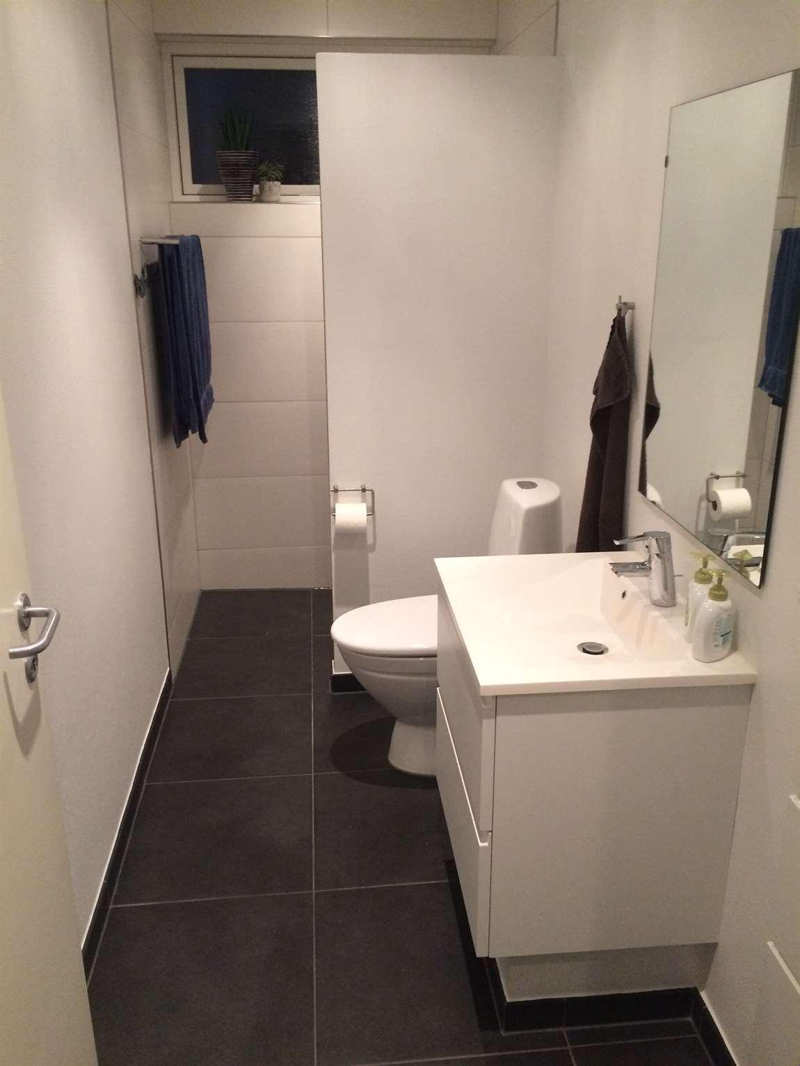 Badeværelse i Ebberup ved Hårby & Assens - Badeværelser